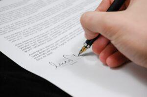 Voorkom handtekening fraude